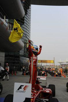 Fernando Alonso  Winner GP China 2013 Chinese Grand Prix, Alonso, Formula One, My Passion, F1, Race Cars, Champion, Racing, China