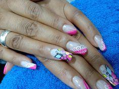 un diseño  practico para tus uñas Creative Nails, Beauty, Beauty Illustration