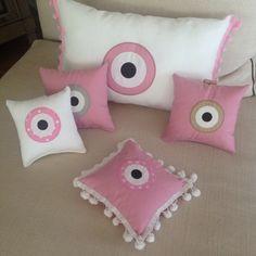The eye ... Hand made pillows