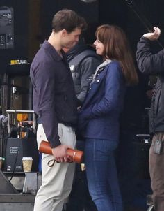 Fifty Shades on Set http://www.pinterest.com/lilyslibrary/