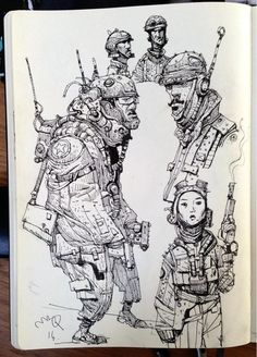 Doodling for Volume 2 underway. pic.twitter.com/kOiHurisBB
