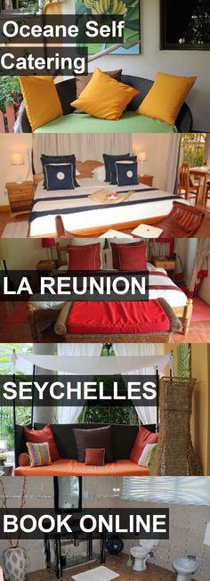 Hotel Oceane Self Catering in La Reunion, Seychelles. For more information, photos, reviews and best prices please follow the link. #Seychelles #LaReunion #travel #vacation #hotel