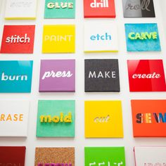 Turn words into wall art with this step by step tutorial.