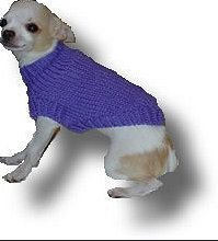 XXS Plain Dog Sweater Pattern by JuneBowmanKnits on Etsy