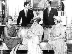 Prince Charles, Prince William, Princess Diana, Queen Elizabeth II