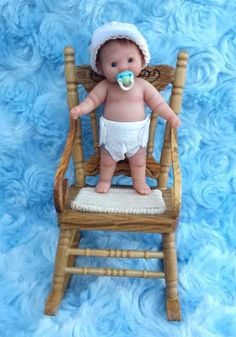 Miniature Ooak Hand Sculpted Dollhouse 1 12 Baby Toddler Clay ART Doll NOT TOY | eBay