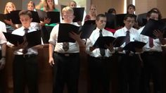 Guard Him Joseph by choir with Elder Hansen on piano