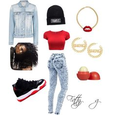 Outfit with Jordans
