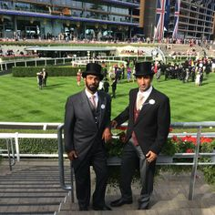 Royal Ascot Day 1 2014 warsaan and his father