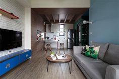 Un apartamento moderno y con toques industriales · A modern apartment with industrial vibes