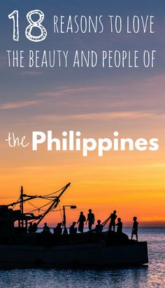 Our time in the Philippines put us in contact with incredible nature, beautiful sunsets, enchanting culture, and the most unforgettable people. Travel Guides, Travel Tips, Travel Advice, Travel Plan, Philippines Travel, Philippines Culture, Wanderlust, Beautiful Places To Visit, Amazing Places