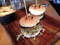 Wagyu Beef Sliders @ The Meat & Wine Co, Sydney
