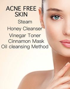 keep your skin acne free, clear and glowing with simple natural remedies...