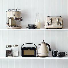 Buy De'Longhi Vintage Icona 4-Slice Toaster Online at johnlewis.com