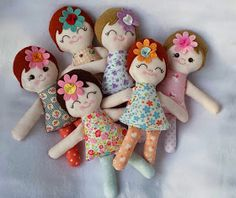 Two years is a long time to be away. I had just intended on taking a small bre. Tiny Dolls, Soft Dolls, Doll Patterns Free, Free Pattern, Fabric Toys, Paper Toys, Operation Christmas Child, Mermaid Dolls, Sewing Projects For Kids