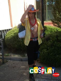 Portgas D. Ace Cosplay from One Piece at Japan weekens (Sept.)