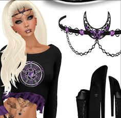 Second Life Freebies and more: Free Complete Second Life Outfits For Women