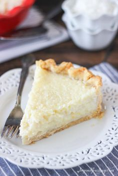 Old Fashioned Coconut Custard Pie - Beyond Frosting