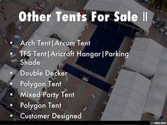 Other Tents For Sale by Shelther Tent Manufacturing Co.,Ltd. via slideshare