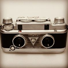 TDC Stereo Vivid Made in Chicago circa 1954 #throwbackthursday #vintage