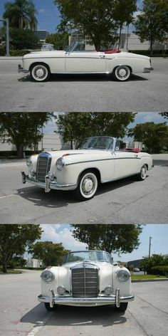 1959 Mercedes-Benz 220 S Convertible, Completely Restored Immaculate Condition!