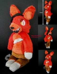 Five Nights at Freddy's Plushie - Chibi Foxy by HipsterOwlet.deviantart.com on @DeviantArt