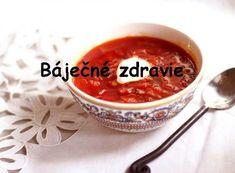 Mínus 5 kg za týždeň? Jednoduchá polievka na chudnutie pre tých, ktorí nechcú hladovať. FUNGUJE TO! Funguje To, Slovak Recipes, Chili, Pudding, Cooking, Tableware, Desserts, Soups, Kitchen