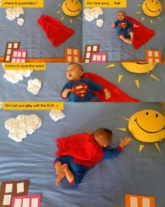 6 month baby picture comic story