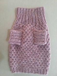Ropa para mascotas  perro suéter de punto con hilado de