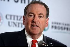 Mike Huckabee - Poof! Be gone.
