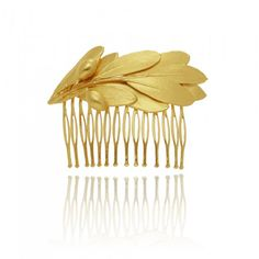 feel beauty, An elegant headiece that features 5 micron gold plated olive branch. Gold Headpiece, Bridal Hair Accessories, Bridal Looks, On Your Wedding Day, Make It Yourself, Unique, Beauty, Wedding Hair Accessories