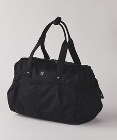 gym to win Lululemon bag black duffel bag NWT | Lululemon ...
