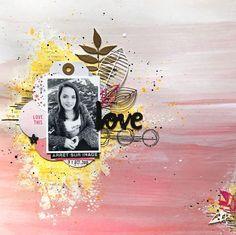 Scrap Plaisir : le scrap de shannon91: DT Scrapatalie et Scraposphère : Love