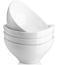 nice Over-and-Back 4-Piece Porcelain Serving Bowl Set (4 Bowls) | A ...