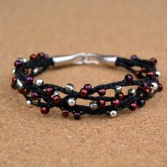 This easy bracelet takes no special tools or techniques and you can make it for well under $10!