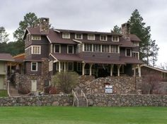 Cabin at the State Game Lodge, Custer State Park - Picture of ...