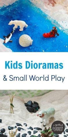 Kids Dioramas and Small World Play