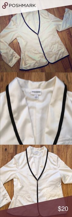 954eed3f Kate Young for Target Tuxedo Jacket This silky white blazer is the perfect  topper to your