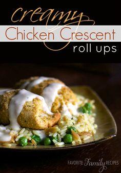 Easy Chicken Roll-ups