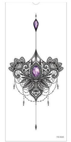 Breast or sternum tattoo - Diy Best Tattoo - Tattoo Designs For Women Tattoos For Women On Thigh, Sleeve Tattoos For Women, Tattoos For Women Small, Small Tattoos, Tattoo Women, Tattoo Sleeves, Trendy Tattoos, Sexy Tattoos, Body Art Tattoos