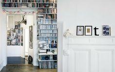 whites and shelves