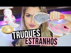 TRUQUES ESTRANHOS QUE REALMENTE FUNCIONAM! Camilla Amaral - YouTube