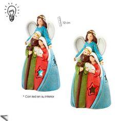 Nacimiento-Angel-con-Luz www.luminariaregalos.com