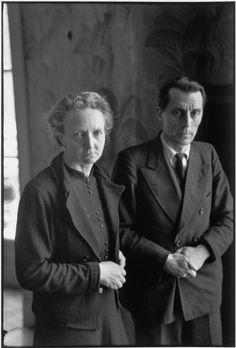 Henri Cartier-Bresson, Irène et Frédéric Joliot-Curie, France, 1944. © Henri Cartier-Bresson/Magnum Photos.