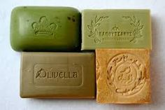 Mediterranean olive oil soap collection.