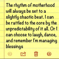 Mothering quote by Lysa Terkeurst - totally been feeling this way lately!