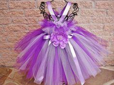 Tutu Dress SHADES OF LILAC Bit of Fluff Bodice by ElsaSieron, $65.00