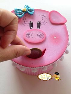 Pig Crafts, Crafts To Sell, Diy And Crafts, Crafts For Kids, Arts And Crafts, Cardboard Crafts, Foam Crafts, Paper Crafts, Craft Gifts