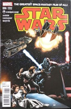 Star Wars #6 (Whilce Portacio Montreal Comic Con Variant Cover)
