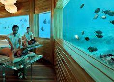 massage at huvafen fushi resort-maldives- Oh My!